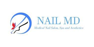 Nail MD Design Logo